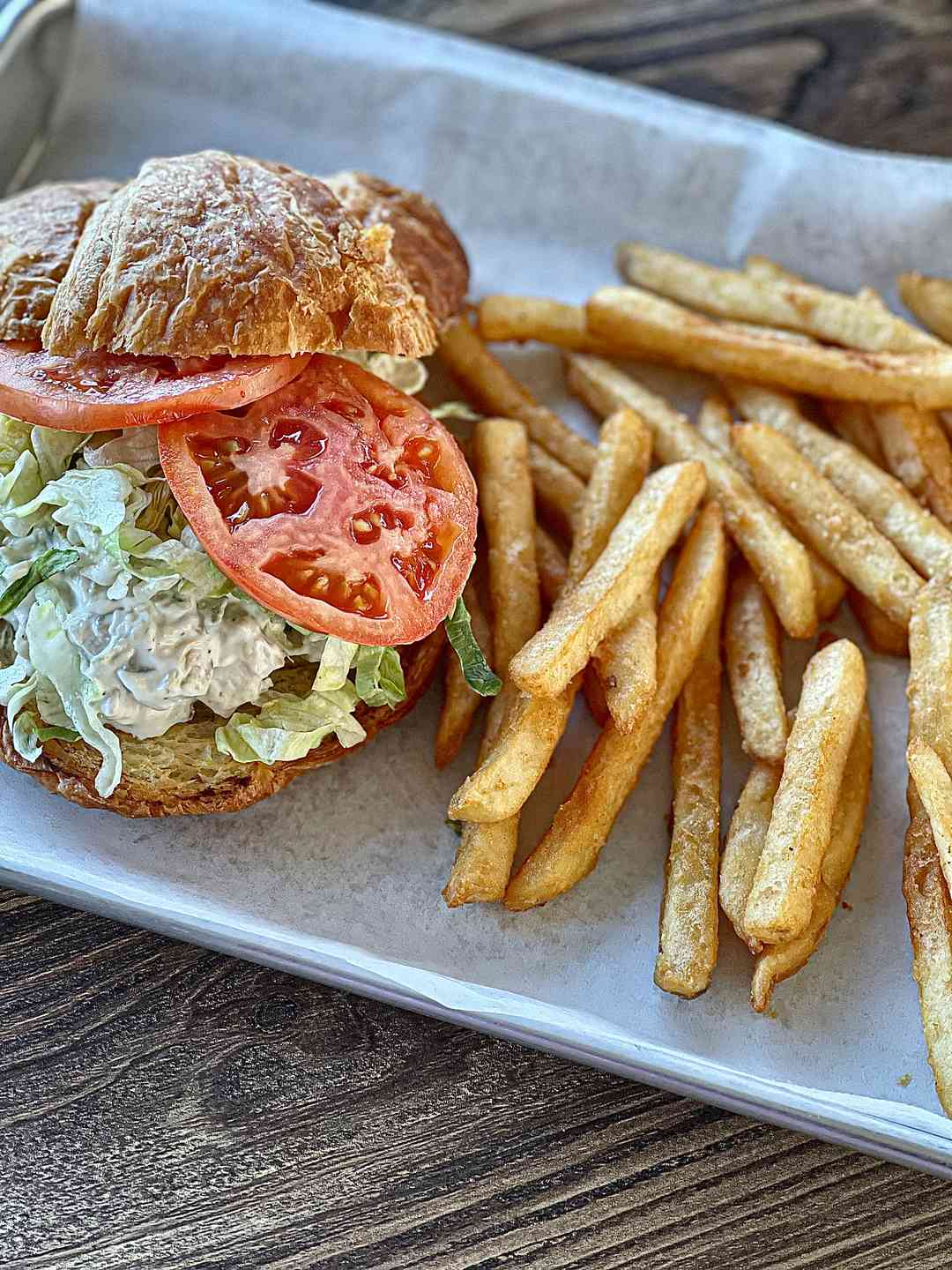 Chicken or Tuna Salad Sandwich