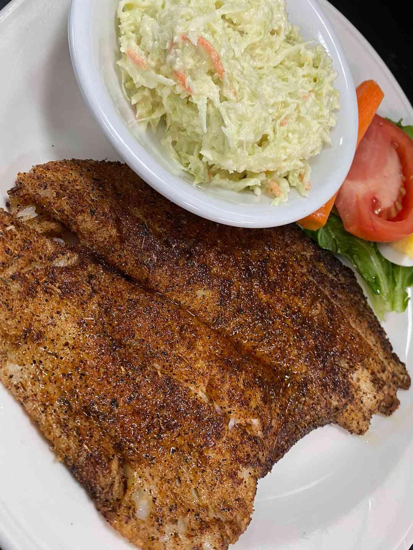 Fresh Flounder Platter