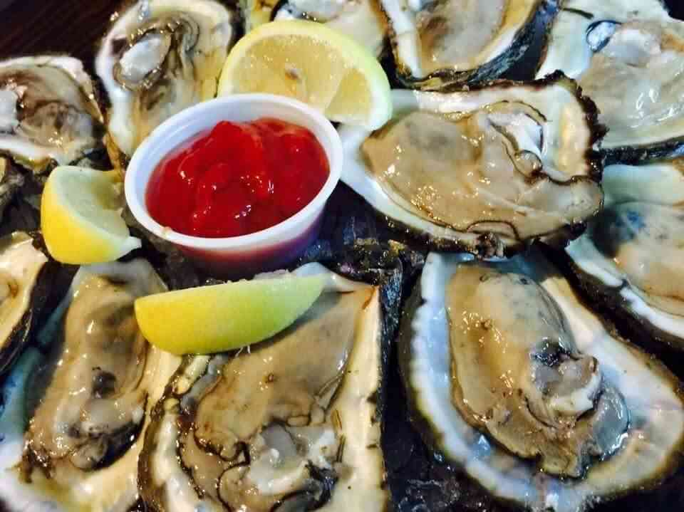 Oysters on the 1/2 Shell*