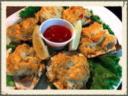 Stuffed Oysters*