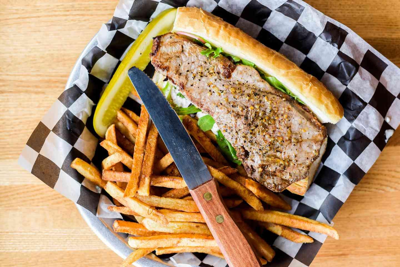 New York Strip Steak Sandwich