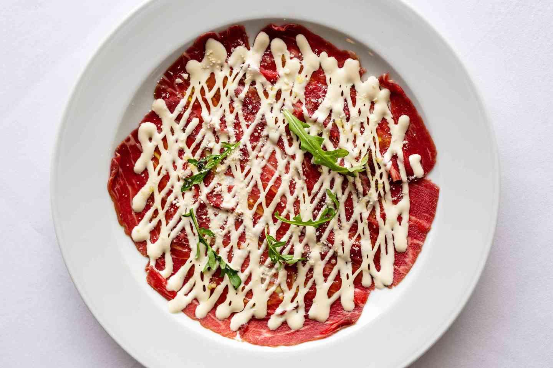 Beef Carpaccio*