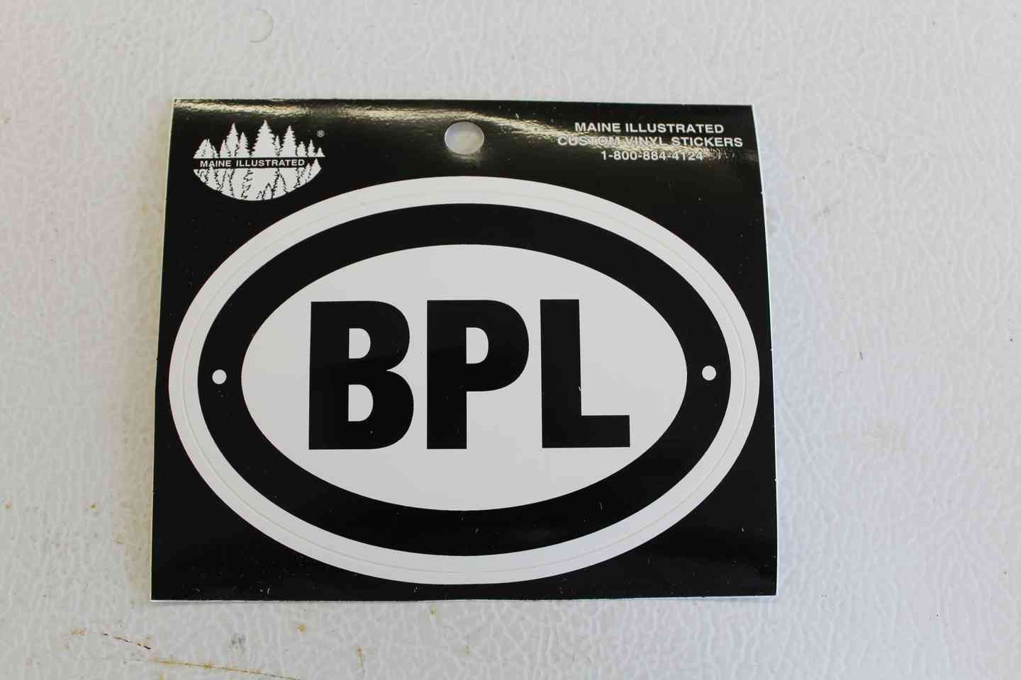 Large BPL Sticker