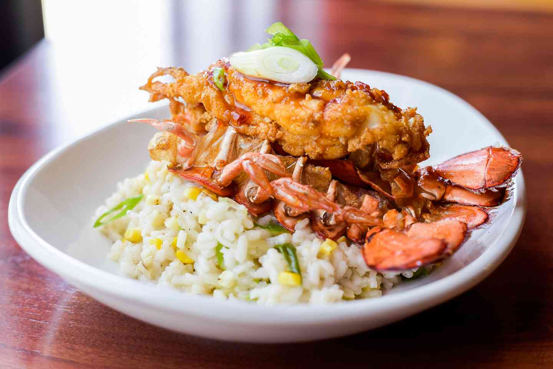 Deep Fried Lobster