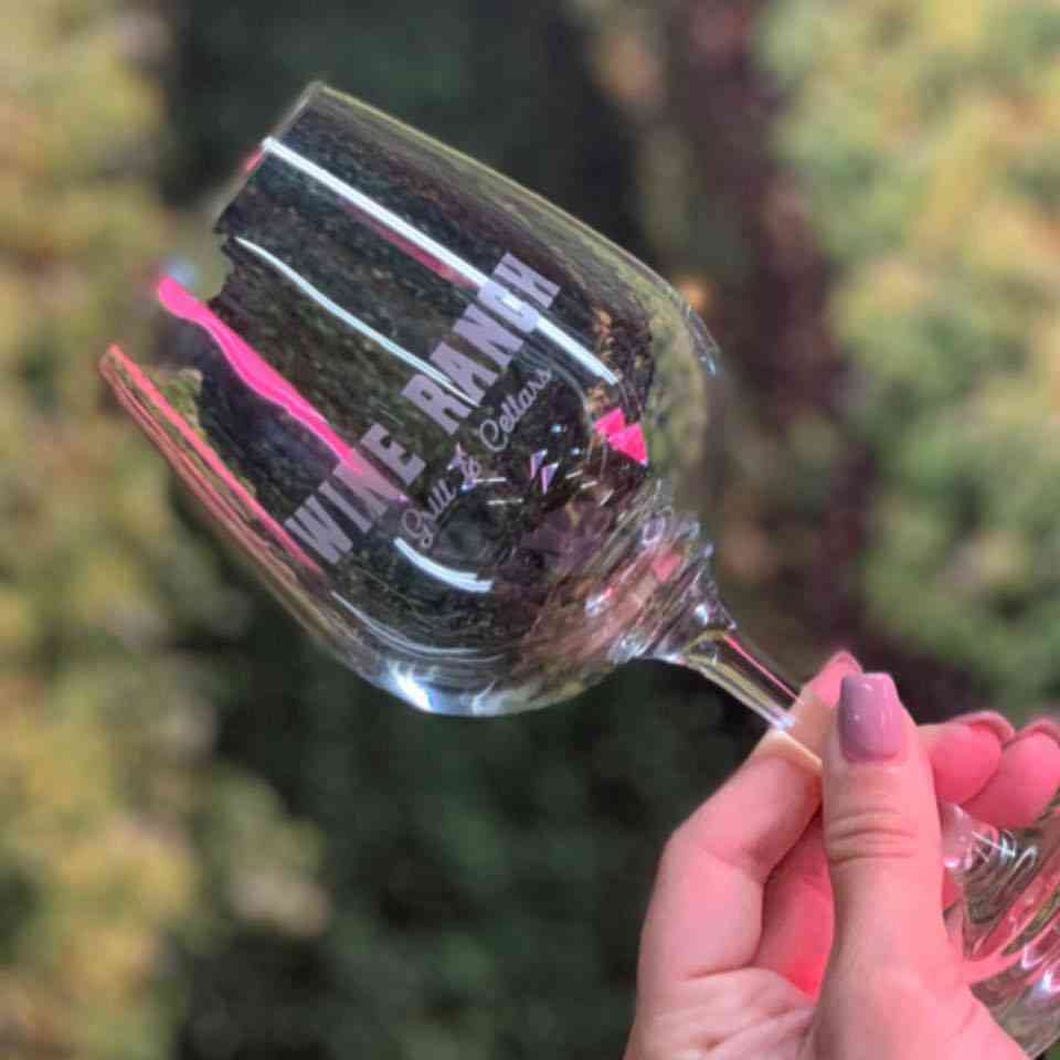 wine ranch glass