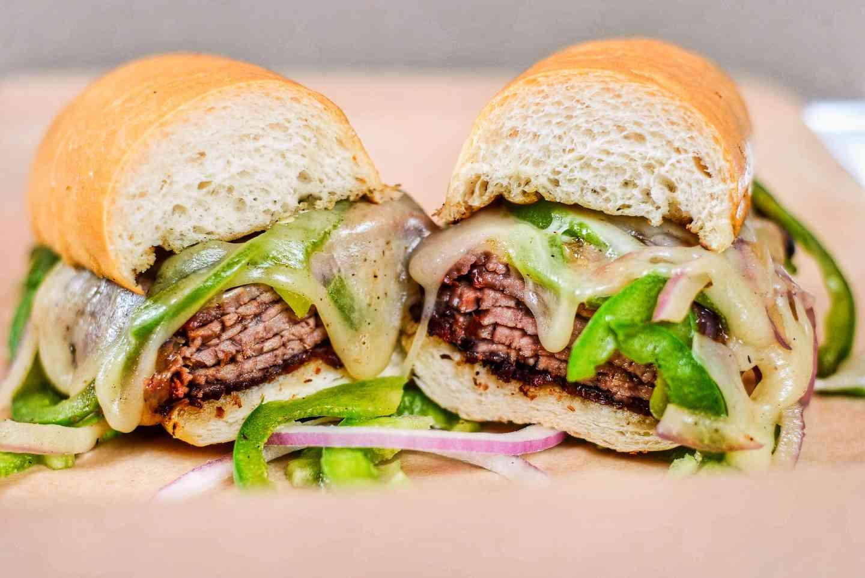 Cali Cheesesteak Sandwich