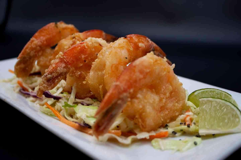Tequila Glazed Shrimp