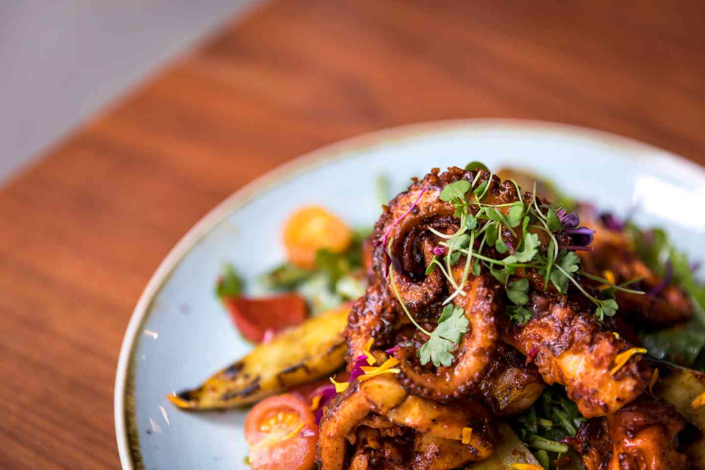 WOOD - GRILLED OCTOPUS