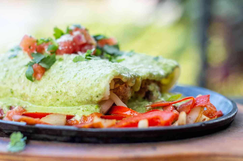 Sizzling Chicken Enchilada