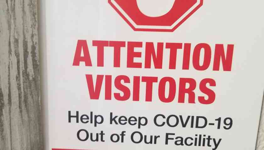 Covid Disclaimer For our Patrons