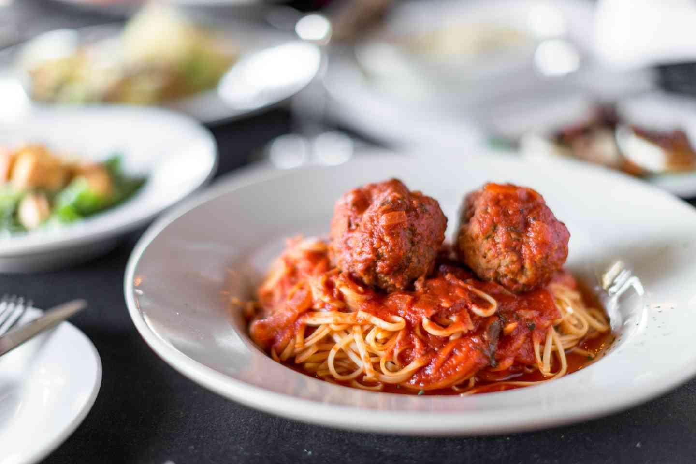 Spaghetti Marinara with Meat