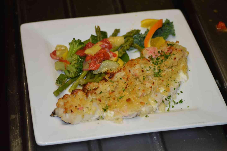 Seafood Stuffed Haddock