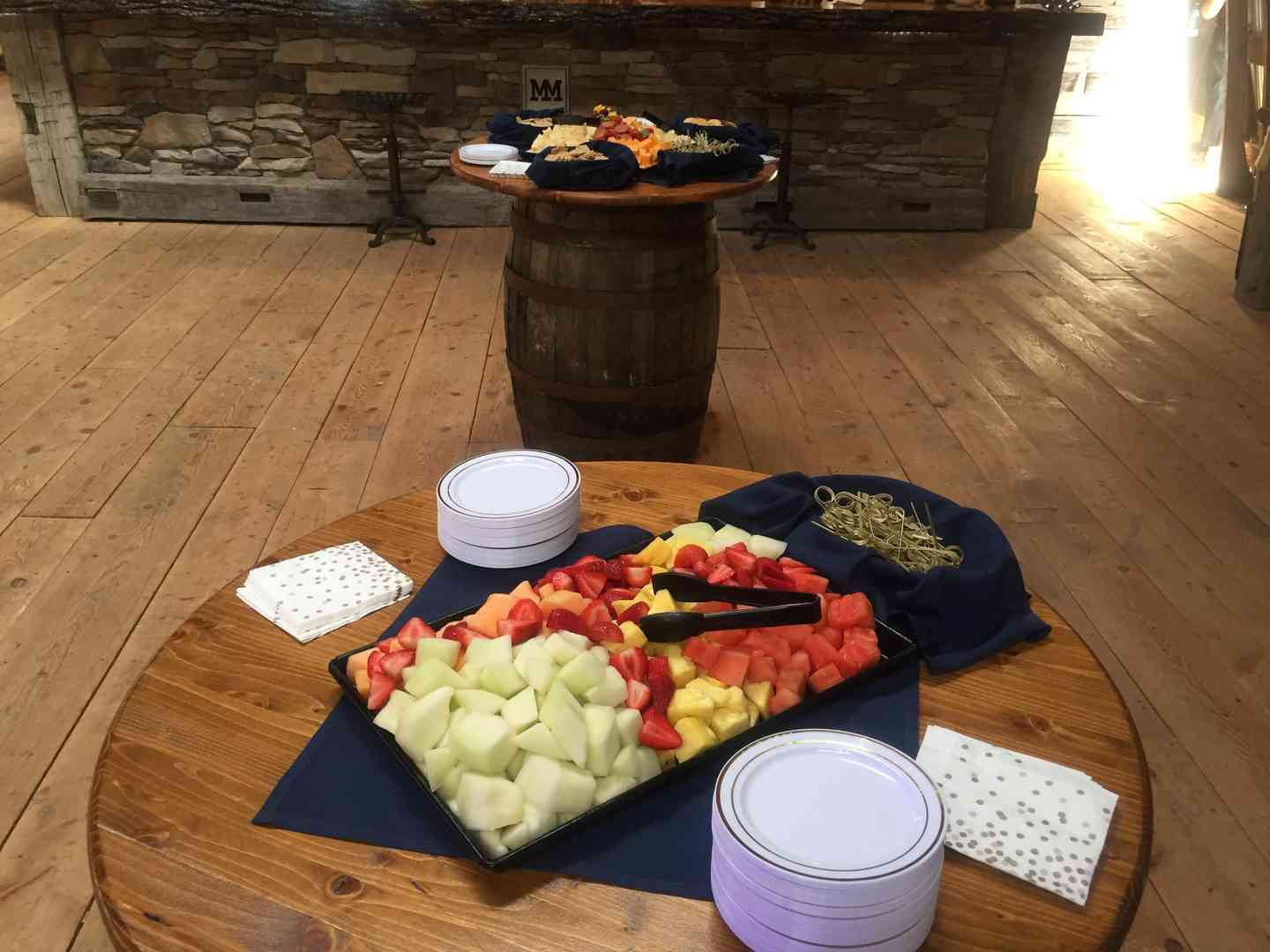 catering fruit plate