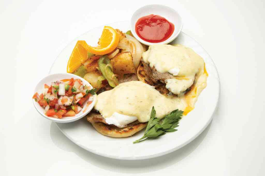 The Greek Eggs Benedict