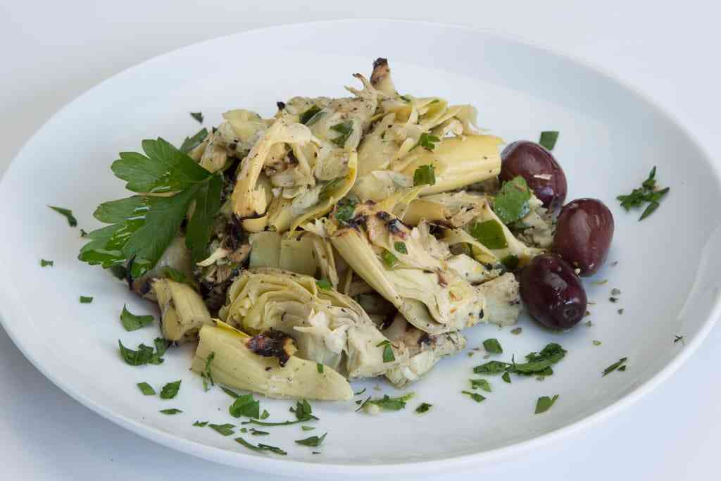 Char-roasted Artichoke Hearts