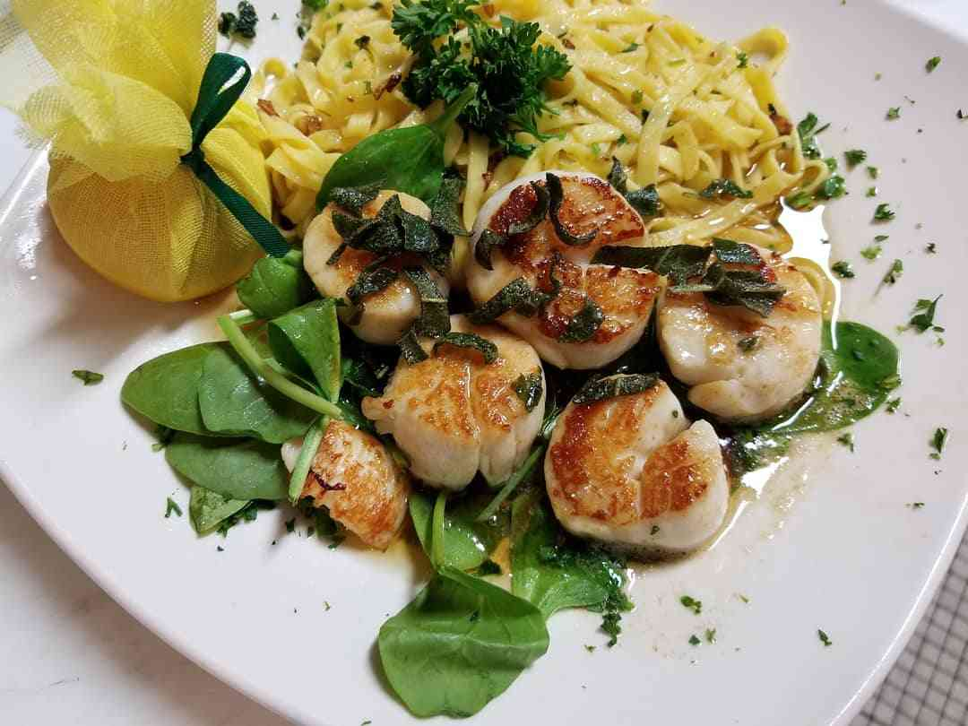 Elmer's Favorite Sea Scallops