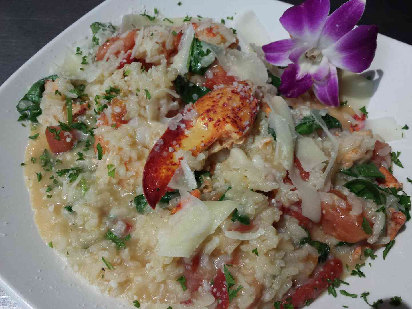 LOBSTER & SRHIMP RISOTTO