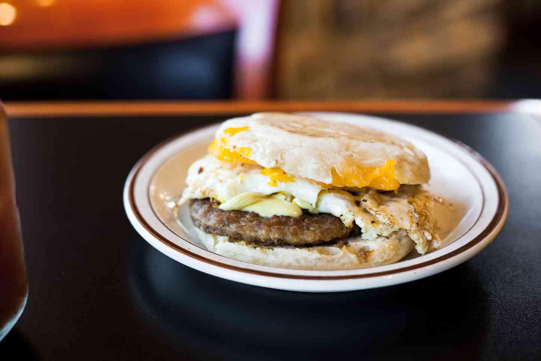 Breakfast Sandwedge