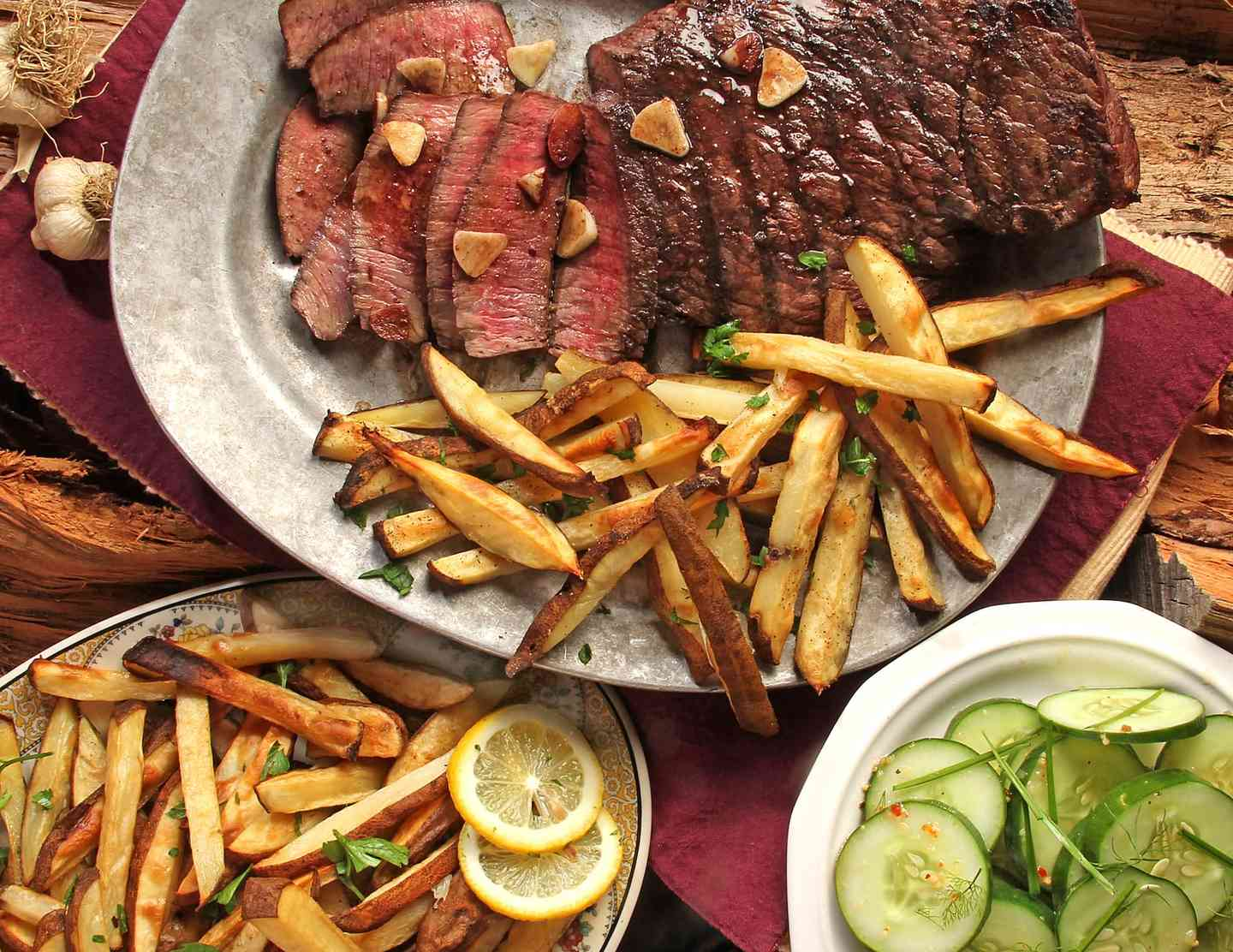beef and fries