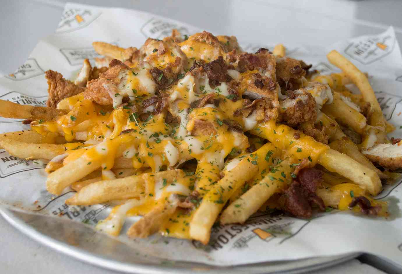 Loaded Bird Dog Fries