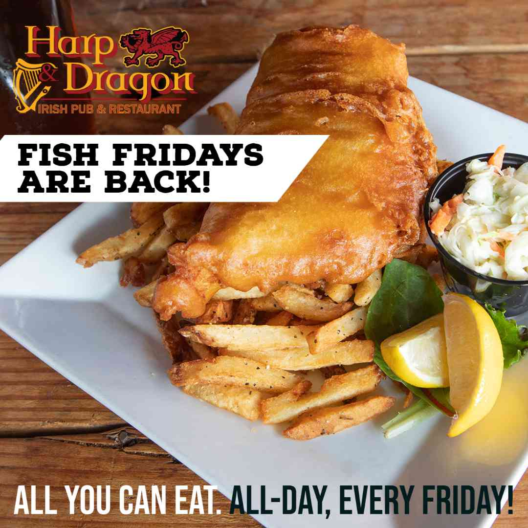Harp and Dragon family meals are a great way to feed your entire family while keeping your budget in mind. Just 29.99 feeds a family of 6 to 8. Delivery and pick up is now available!