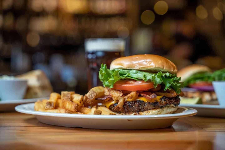 Burger Night - 1/2 lb Burger with Fries