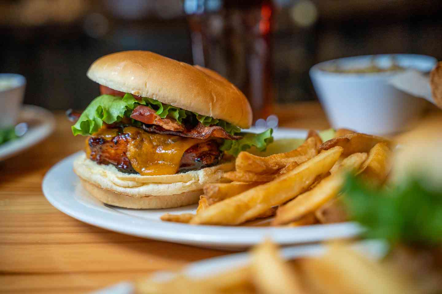 BBQ Chicken Club