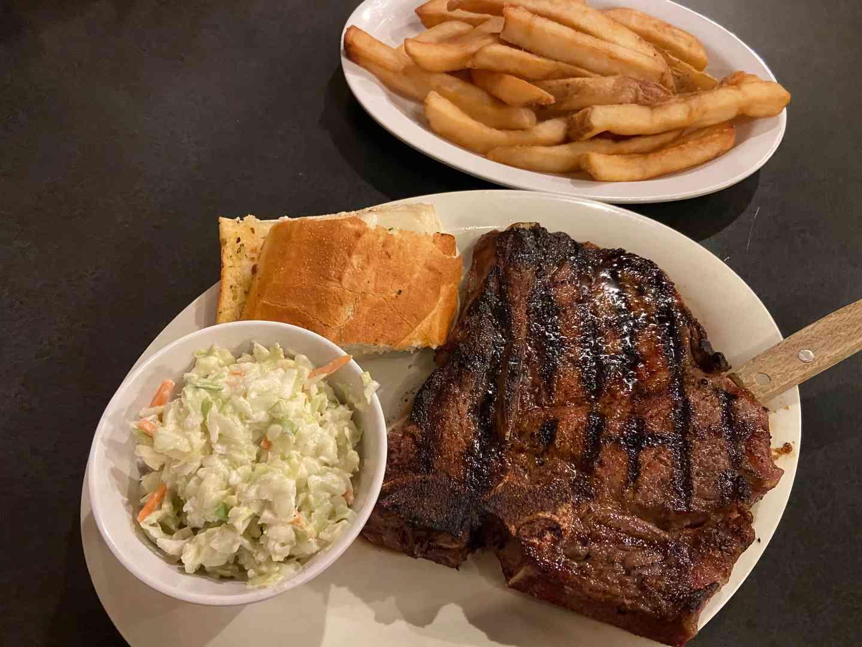 Friday - Sunday - T-Bone Steak
