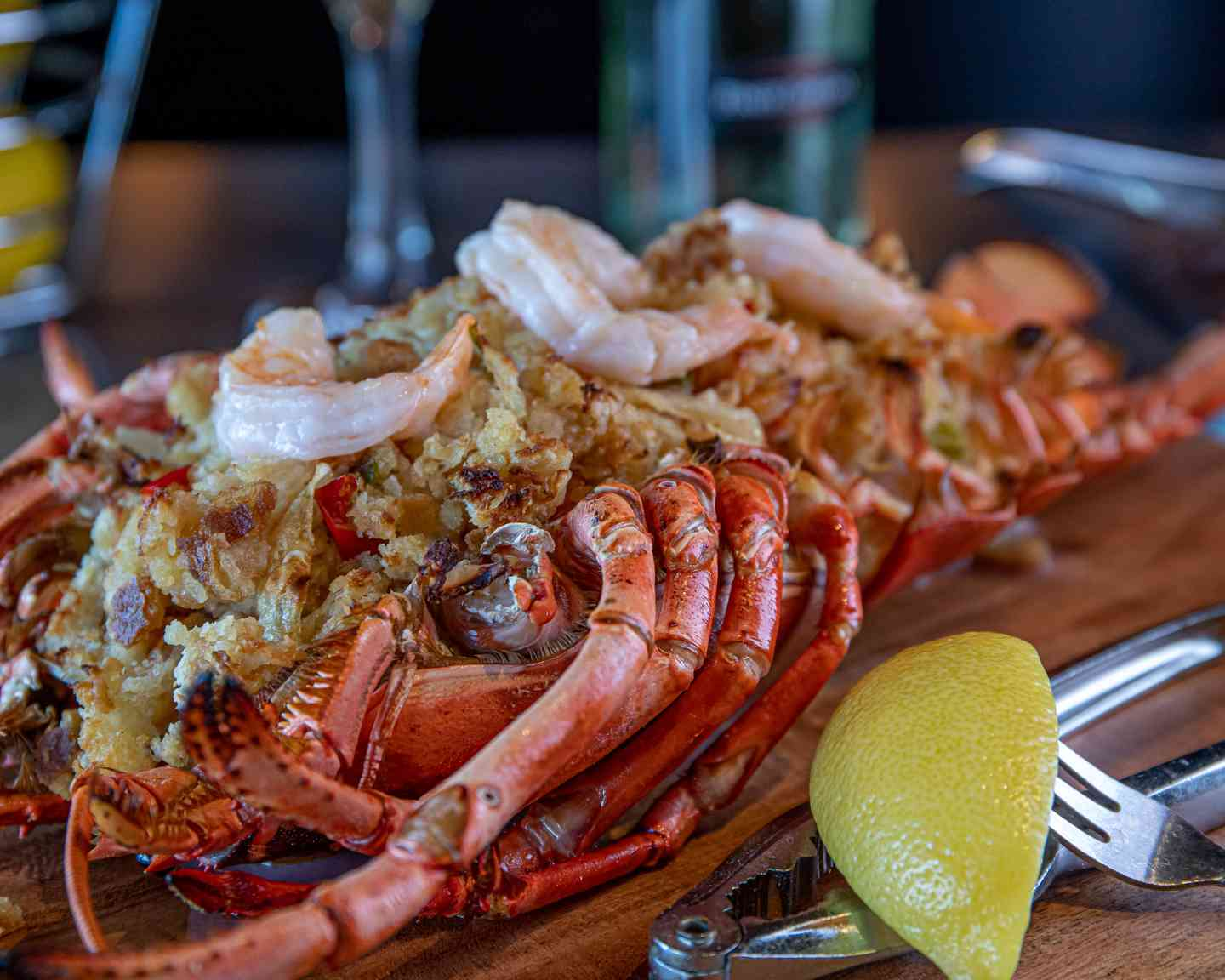 Famous 2 Lb Baked Stuffed Lobster