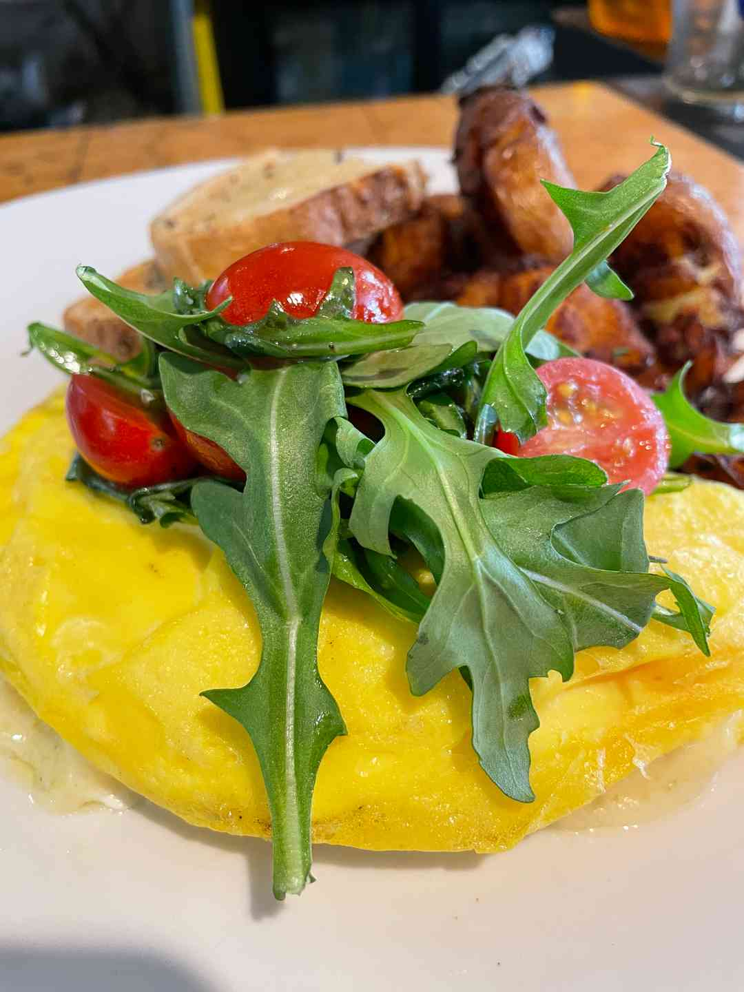 Ham & Cheese Omelet*