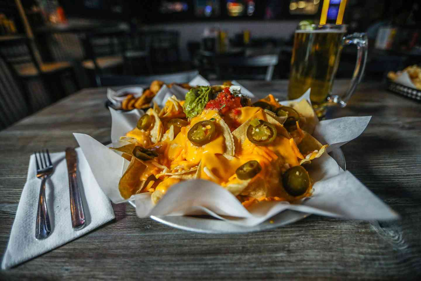 Knockout Cheese Nachos