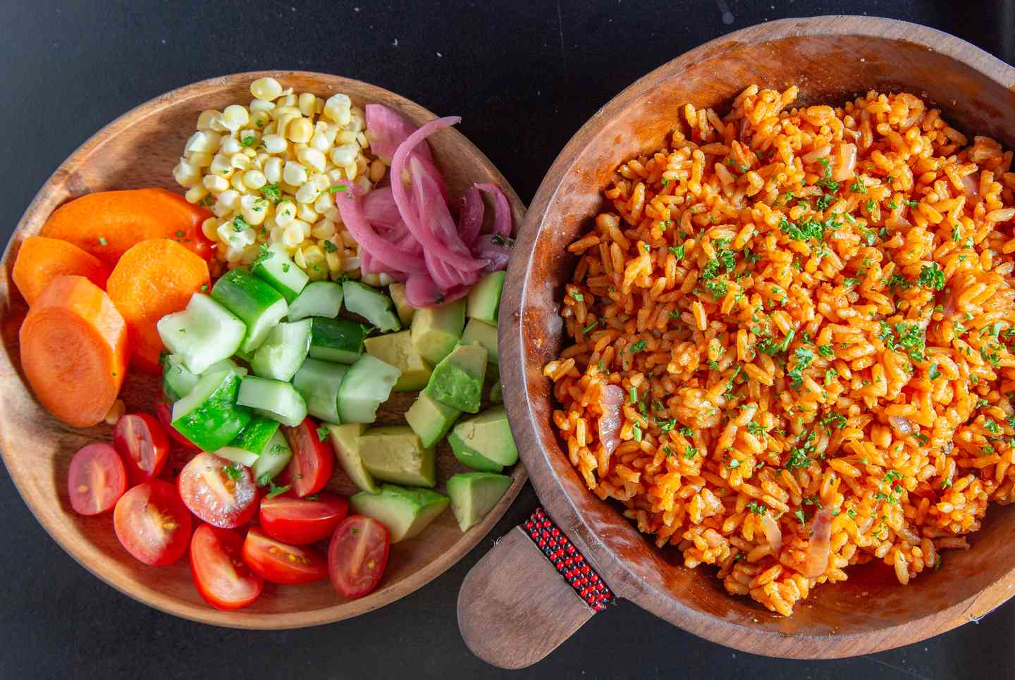 Build Your Own Jollof Rice Bowl