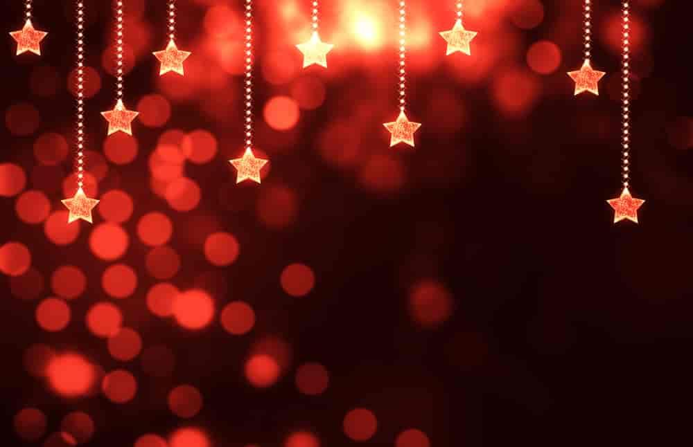 holiday stars background
