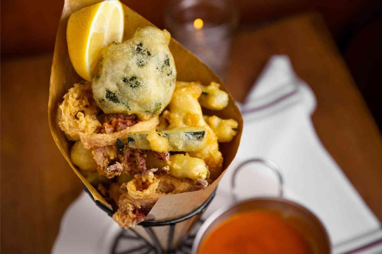 Calamari E Zucchine Fritti