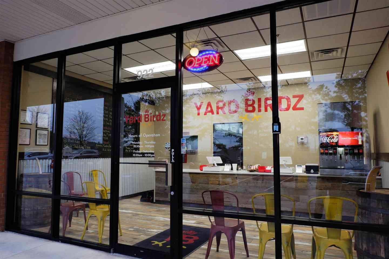 Store front of YardBirdz