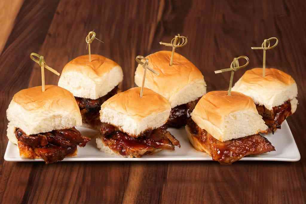 Basket of Tri-Tip Sliders