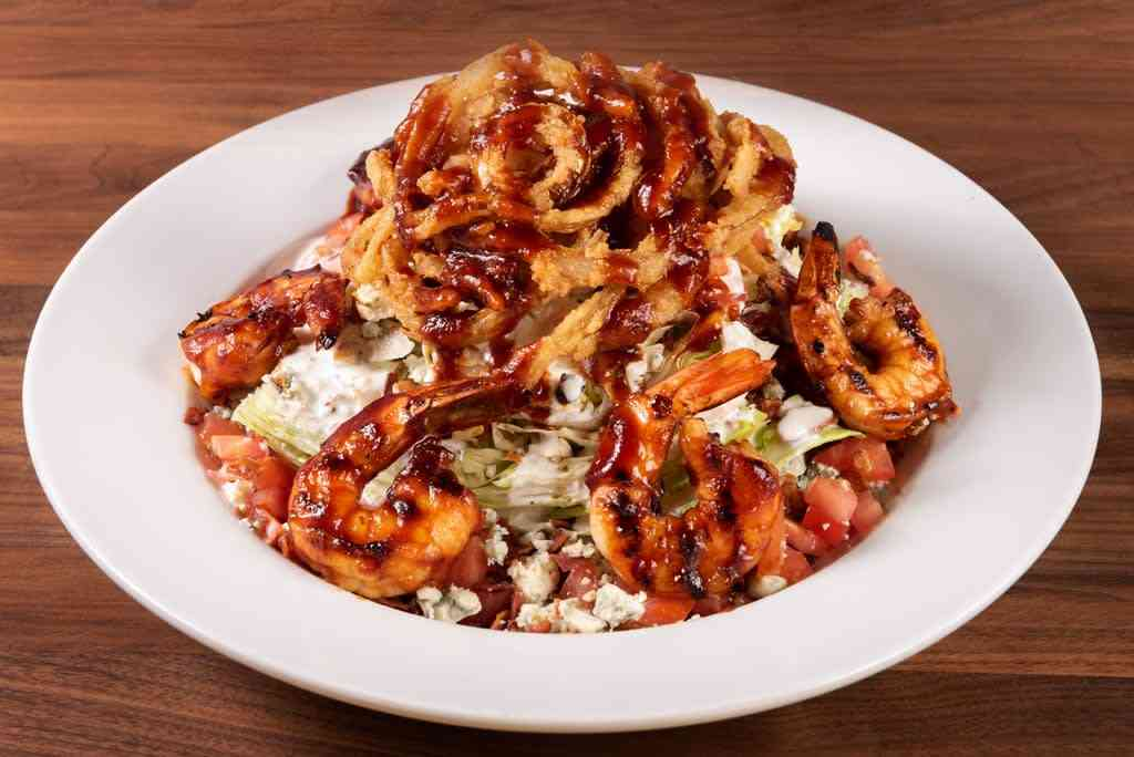 BBQ Bleu Wedge Salad