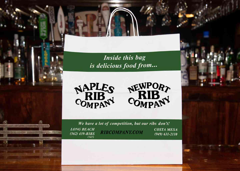 Rib Company To Go Bags