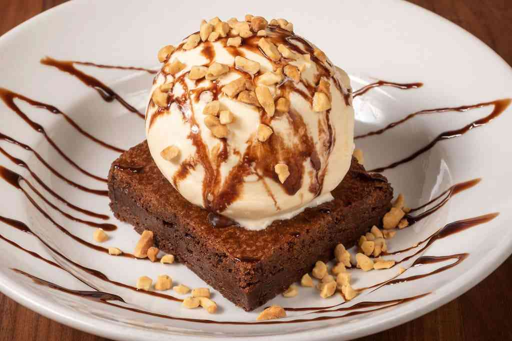 Brownie Ice Cream Delight