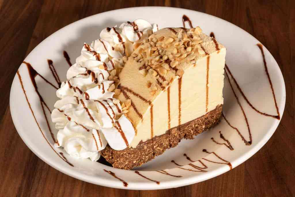 Original Hershey Peanut Butter Ice Cream Pie