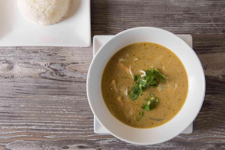 Yam & Sweet Potato Curry