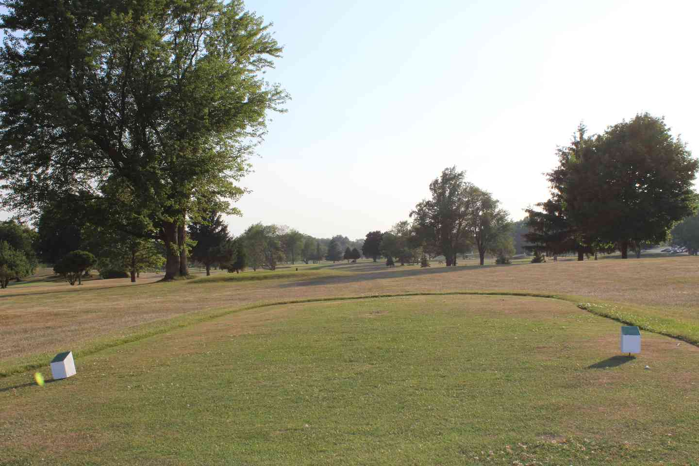 View of hole 18