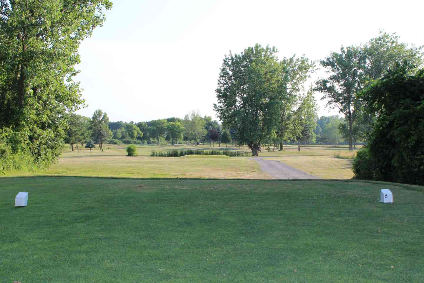 View of hole 15