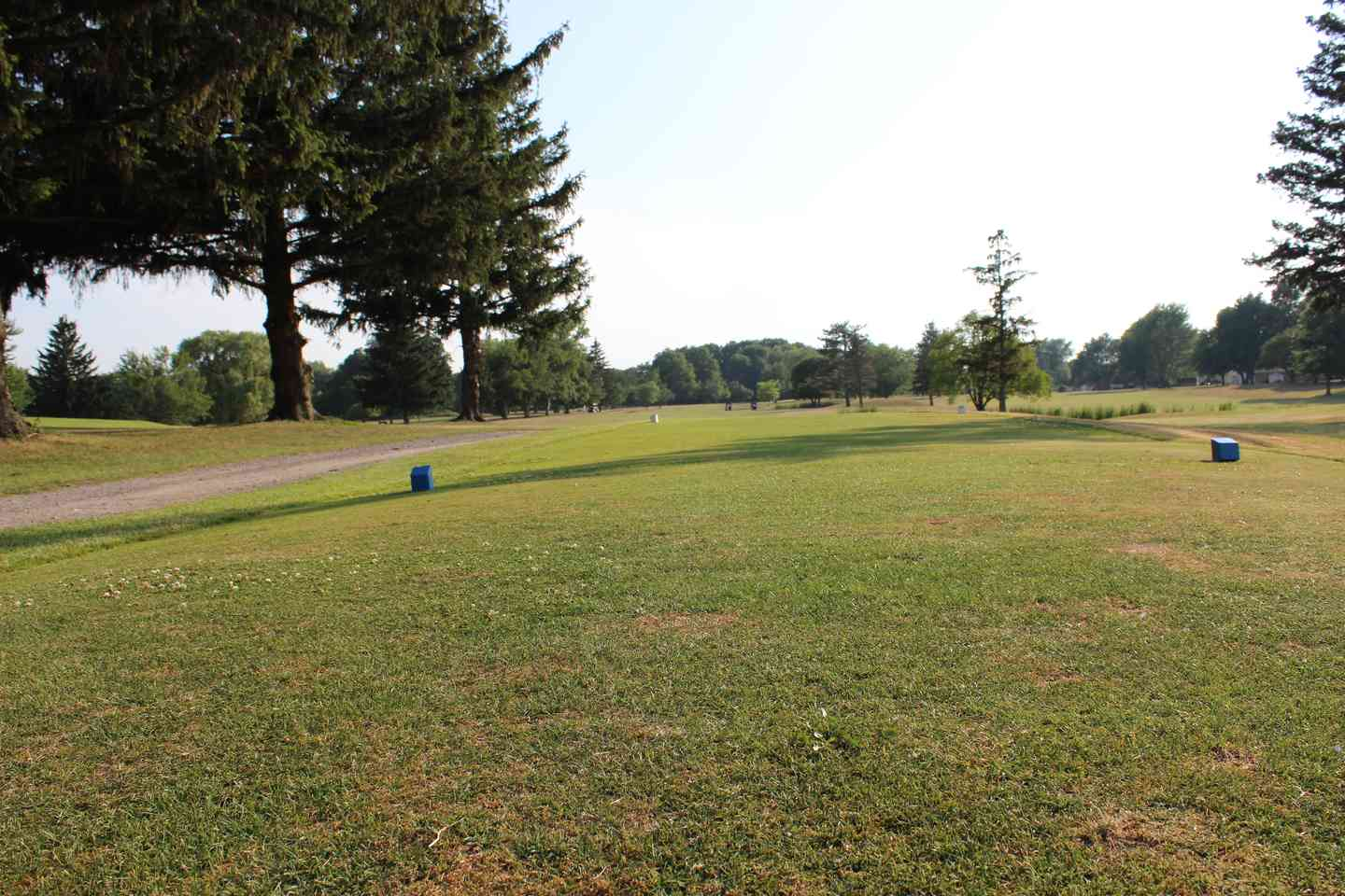 Hole 1 view