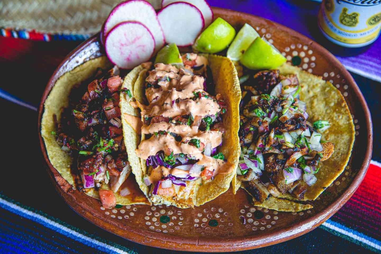 Tacos de Camarón a la Baja