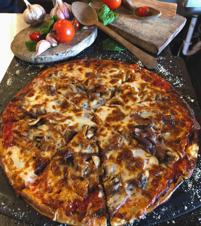 Blackened Chicken Pizza