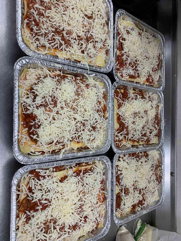 Jason's Famous Three Cheese Meat Lasagna