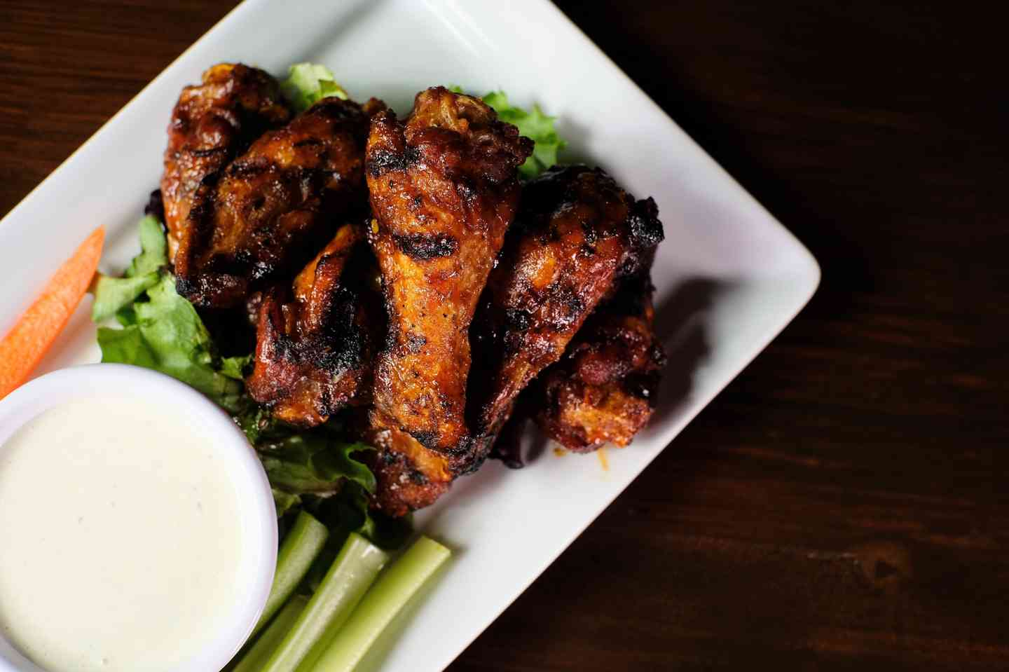 Wood Grilled Wings