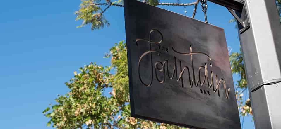 Fountain Bar Sign