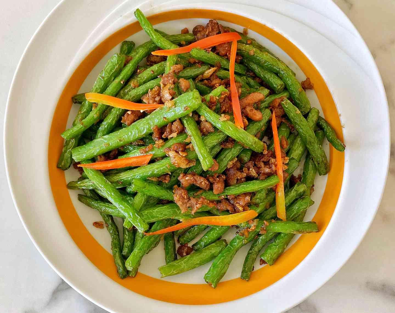 Dry String Beans 豆角炒肉